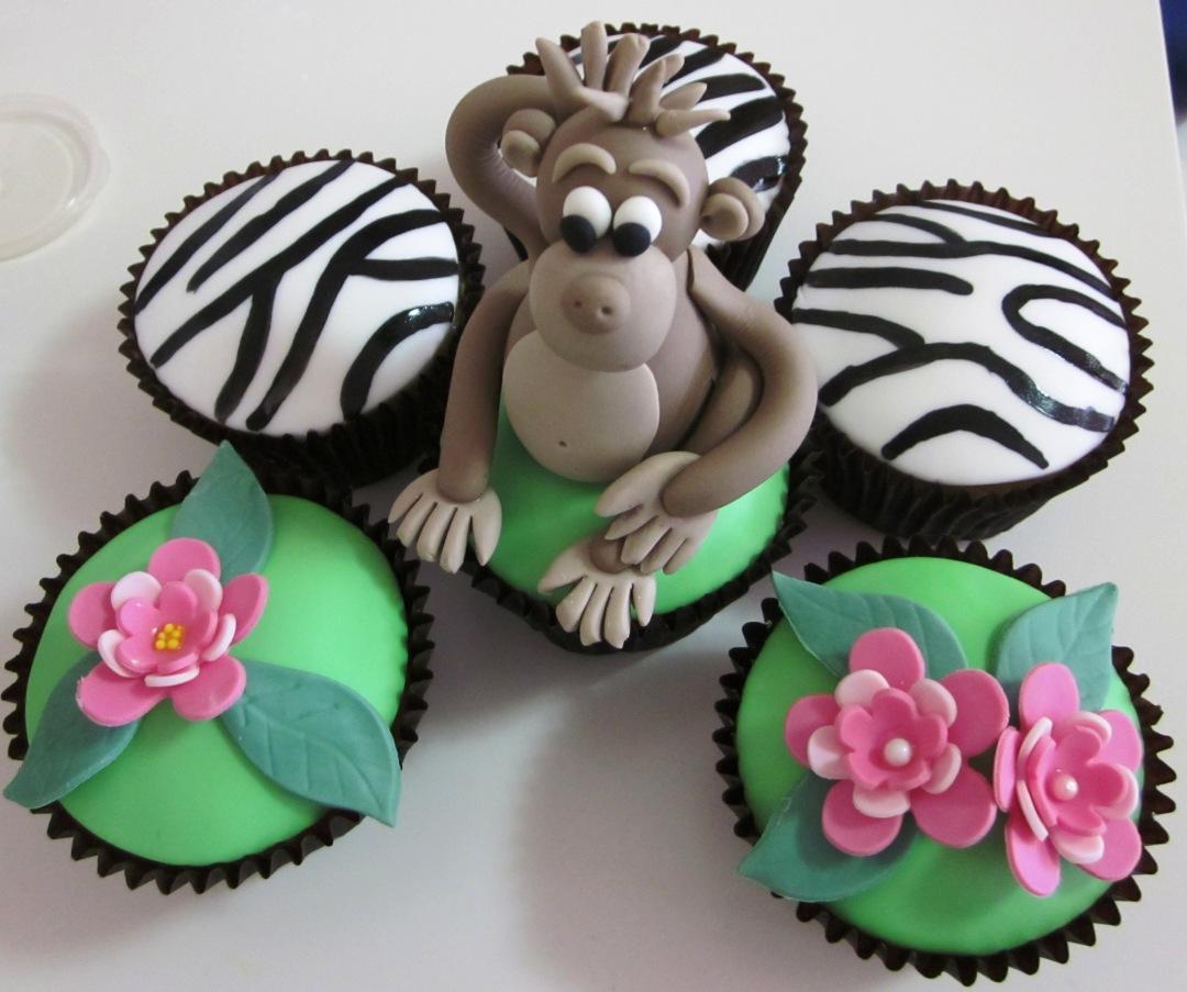 cupcake singe gateau idée originale
