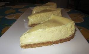 Lemon & lime cheesecake