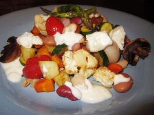 Roast vegetable salad