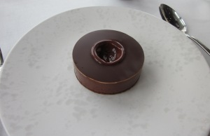 Quay's Eight texture chocolate cake. Incredible rich.