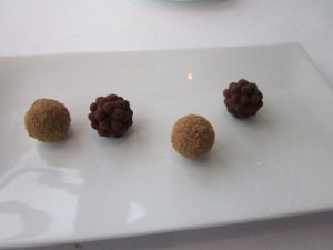 Petit fours that came with our tea.