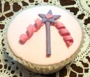 Cupcake with wand