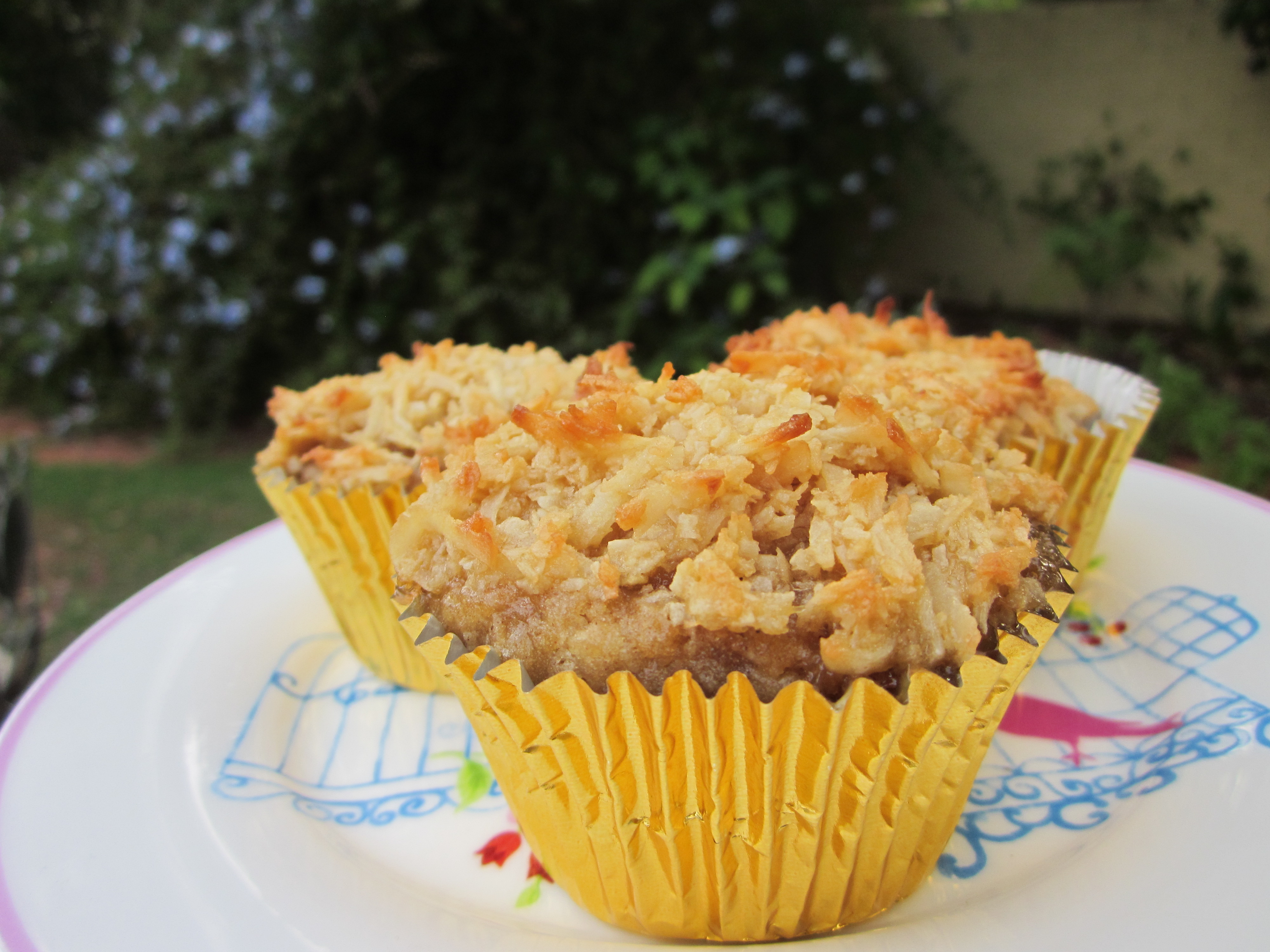 Hummingbird Cakes With Coconut Crust Myfoodmywayblog