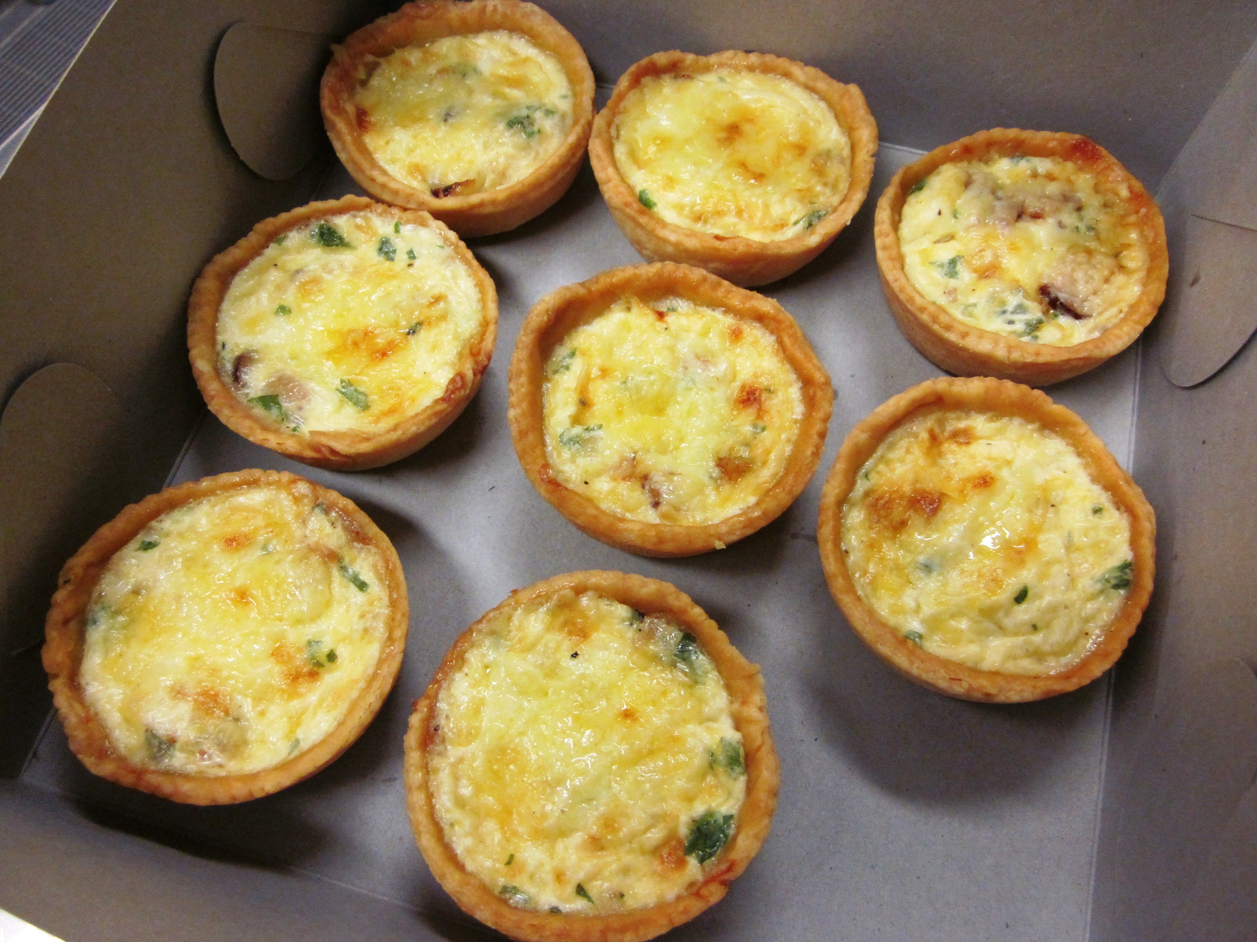 Mini Quiches Recipe — Dishmaps