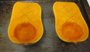 pumpkins ready to roast