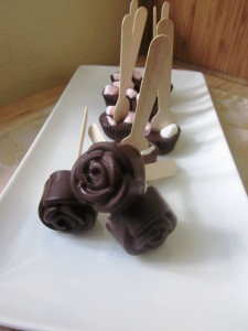 Hot choc spoons