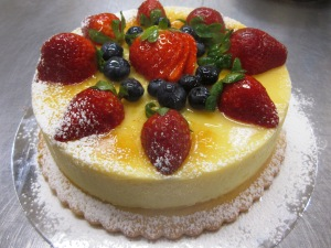 Steamed Cheesecake 2